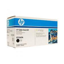 ORIGINALE TONER HP CE260A BK NERO HP Color LaserJet Enterprise CM4500 Series