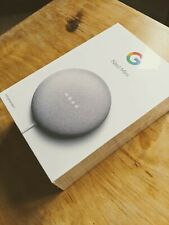 Google Nest Mini (2nd Generation) Smart Home Speaker - Chalk (Brand New Boxed)
