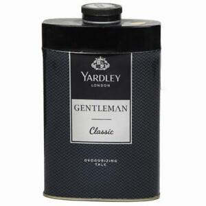 Yardley London Perfumed Talc Gentleman Classic For Men Talcum Powder - Free Ship