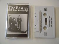 THE BEATLES 1962 LIVE RECORDINGS DOUBLE PLAY CASSETTE TAPE COMPILATION 30 SONGS