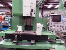 "1985 Mori Seiki MV-55 40x21x21 50 taper 4th Axis 16"" Table Yasnac MX-1 Conveyor"
