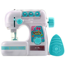 Mini Portable Hand-held Clothes Sewing Machine Home Travel LED Electric DIY Kids