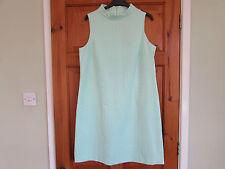 Mod/GoGo Cotton Blend 1960s Vintage Dresses for Women