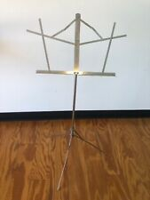 Vintage Norwood Chrome FoldingCollapsibleMus ic Stand Made In Usa