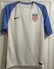 Nike Usmnt Usa National Team Authentic Soccer Jersey 2016 Fifa World Cup Size M