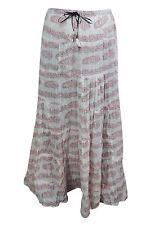 Boho Chic Hippy Gypsy Long Skirt Printed Flared Bohemian Fashion Maxi Skirts