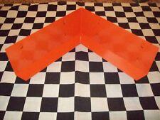 Special Order 24 - Orange Galvanized Steel Rabbit Cage Corner Urine Guard Parts