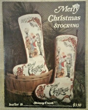 Merry Christmas Stocking Cross Stitch Pattern Leaflet 16 Stoney Creek Collection