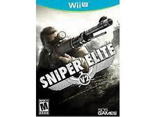 SNIPER ELITE V2 Wii U Nintendo v 2 *BRAND NEW*  *FACTORY SEALED*