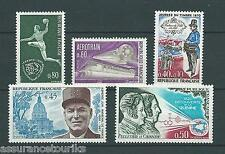 FRANCE - 1970 YT 1629 à 1633 - TIMBRES NEUFS** LUXE