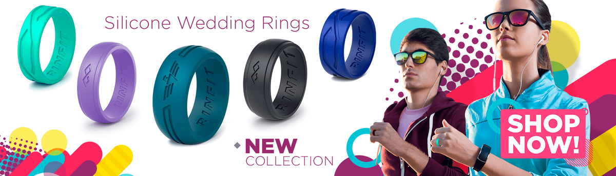 Irency - Silicone Wedding Rings