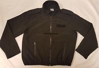 Genuine Ex Police Black Softshell Unisex Jacket  Model PR2SSF1 Choose Your Size!