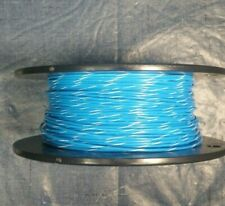 18 AWG Blu/Wht  Mil-Spec Wire, (PTFE) Stranded Silver Plated, 10 ft