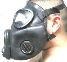 schwarze Gasmaske Offizier M10M Fetisch Black Style Filter  Halloween Dark Room