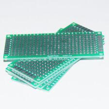 10pcs 3X7CM PCB Prototype Board Protoboard Stripboard Double Perfboard Veroboard