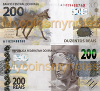 BRAZIL, 200 REAIS, 2020, Prefix AL, PNew (Not Yet in Catalog), UNC