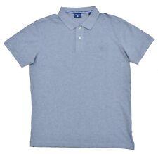 Gant-camiseta polo Polo-Solid pique rugger-regular-gris-talla L nuevo