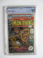 FEAR # 12 - CBCS 9.6 NM - Man-Thing Solo Story! Horror Mystery MARVEL Comics