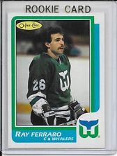 1986-87 O-Pee-Chee Ray Ferraro Rookie # 160