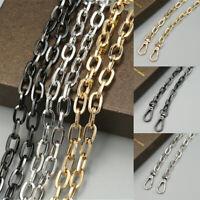1PC Metal Chain Replacement Strap Shoulder Bag Handbag Crossbody Bag Belts 120cm