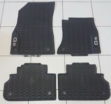 Genuine Audi Q5 Rubber Floor Mats Front & Rear Set New Q5 07/2017-Current