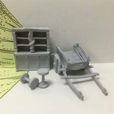 4X Dungeons & Dragons D&D Miniatures Plastic Mini Figure Toy