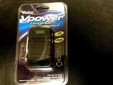 Vivitar Vpower Universal Travel Li-ion Battery Charger fits almost any Battery