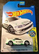 Hot Wheels Super CUSTOM '01 Acura Integra GSR with Real Riders