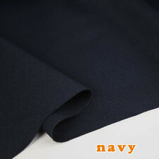 "navy stretchy spandex Fabric knitted fabric bathing suit Skirt fabric 60"" BTY"