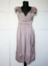 PRADA Mauve Silk Dress, Size:IT 40