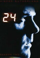 24: Season 2 [7 Discs] [Repackaged] (2009, REGION 1 DVD New) WS