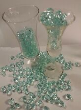 """ Just In"" 100 PCS  Mint Acrylic Ice Crystal  Vase Filler."