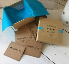 Handmade And Personalised 10 Reasons Why I Love My Daddy Gift Box