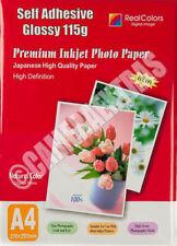 Papier d'imprimante etiquettes