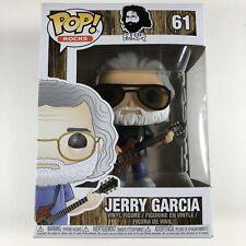 Funko Pop Rocks Jerry Garcia 61 (Refer To Box Condition)