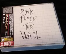 PINK FLOYD THE WALL 2CD w/OBI JAPAN TOCP-53810/11 TOSHIBA EMI 2009 10th Issue