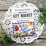 Aunt Gift Fridge MAGNET * Family Designs * Cute party favor USA New DecoWords