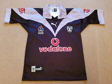 Rare Mens PUMA NRL New Zealand warriors jersey / shirt size small vodafone