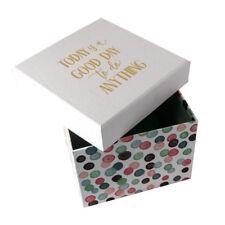 """BEL regalo/Storge BOX """"oggi è una buona giornata. dimensioni: H:13xW15.5xD17cm - GBS197"""