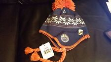 Vintage CCM Hockey Pom Pom Hat/Toque-NHL Edmonton Oilers