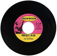 "BANSHEES  ""PROJECT BLUE""      60's GARAGE / PUNK"