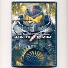 Pacific Rim 2013 Pg-13 sci-fi movie, new Dvd Guillermo del Toro, alien creatures