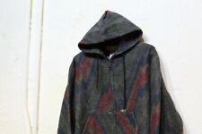 Vintage Carhartt Aztec Print Jacket Fits Size M Jacket Full Zip Hooded RARE
