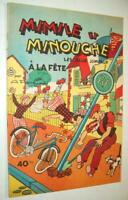 BD MIMILE ET MINOUCHE A LA FÊTE Les deux jumeaux ARISTIDE PERRE ROUFF 1957 TBE