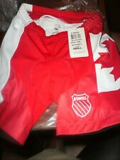 New Women's K-Swiss Team Gear Tri Shorts 2 Small Canada Pads Ws Sports Cycling 3