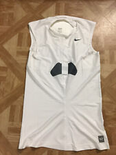 Nike Pro Combat Compression Xl Padded Tank Top White Football
