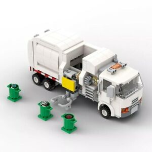 Automated Garbage Truck Building Block Set Toy Bricks Educational Christmas Gift