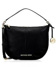 Michael Kors Bag Handbag Bedford Md Crescent Shoulder Leather Black