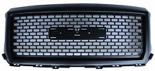Front Grille Black for GMC Sierra 2014-2015 Grille Replacement Denali Style