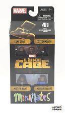 Marvel Minimates Netflix Original Luke Cage Series 1 Box Set